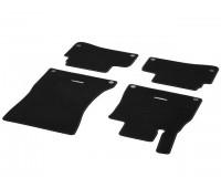 Велюровые коврики CLASSIC, комплект, 4 шт. Черные для Mercedes W222