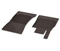 Всесезонные передние коврики CLASSIC коричнивые для Mercedes C217, W222