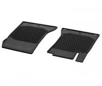 Всесезонные передние коврики CLASSIC черные для Mercedes C217, W222