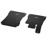 Велюровые коврики CLASSIC, комплект, 2 шт. черные для Mercedes R231