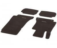 Велюровые коврики CLASSIC, комплект, 4 шт. Коричнивые