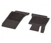 Всесезонные передние коврики CLASSIC коричнивые для Mercedes C238