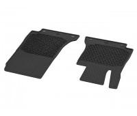 Всесезонные передние коврики CLASSIC черные для Mercedes A238, C238