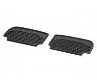 Всесезонные задние коврики CLASSIC черные для Mercedes A238, C238