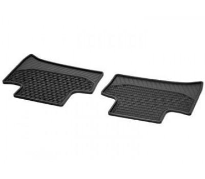 Всесезонные задние коврики CLASSIC черные для Mercedes W242EV