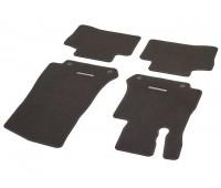 Велюровые коврики CLASSIC, комплект, 4 шт. коричневые для Mercedes C253, X253