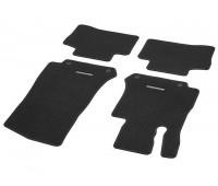 Велюровые коврики CLASSIC, комплект, 4 шт. Черные для Mercedes C253, X253