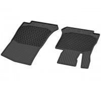 Всесезонные передние коврики CLASSIC черные для Mercedes C253, X253