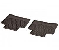 Всесезонные задние коврики CLASSIC коричнивые для Mercedes C253, X253