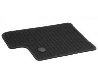 Репсовые задние коврики CLASSIC черные для Mercedes C253, X253