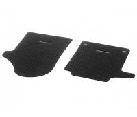 Репсовые коврики CLASSIC,  передние черные для Mercedes V447