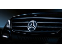 Освещенная звезда Mercedes для W176, W246, A205, C205, S205, W205, C117, X117, C218, X218, A207, C207, X156, W166, X204, X166, A217, C217