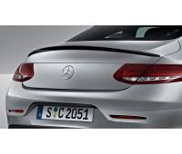 Задний спойлер загрунтованный для Mercedes C205