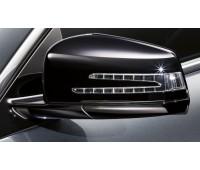 Корпус наружного зеркала, 2 шт. черный для Mercedes W176, W246, W242EV, C204, S204, W204, C117, X117, C218, X218, A207, C207, S212, W212, X156, X204, W221