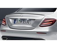 Задний спойлер загрунтованный для Mercedes W213