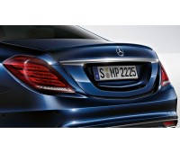 Задний спойлер загрунтованный для Mercedes W222