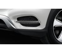 Накладки воздухозаборников для Mercedes C253, X253