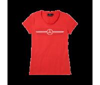 Женская футболка Mercedes