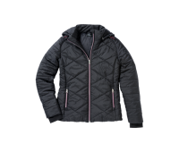 Женская куртка Mercedes Women's Jacket, Black/Plum